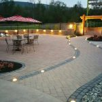 outdoor lighting on patio